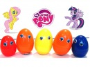 Киндер сюрприз Май литл пони. Unboxing Kinder Surprise Eggs My Little Pony