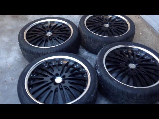 Luxuryrims Lowenhart LF1 3 Piece Rims R22 9 5J Land Range Rover Sport SVR Wheels