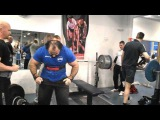 Zahir Khudayarov 240 x 2 time bench press