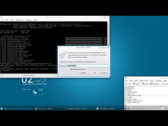 [Arch Linux] How to install Steam Bumblebee with the latest Nvidia drivers