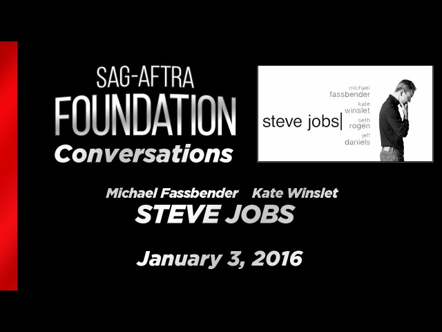 Conversations with Michael Fassbender and Kate Winslet of STEVE JOBS
