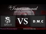 Dota 2 Team Spirit vs D_M_C The International 6 23.06.2016