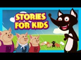 Stories For Kids In English Big Bad Wolf and More Short Stories For Children - Story Compilation