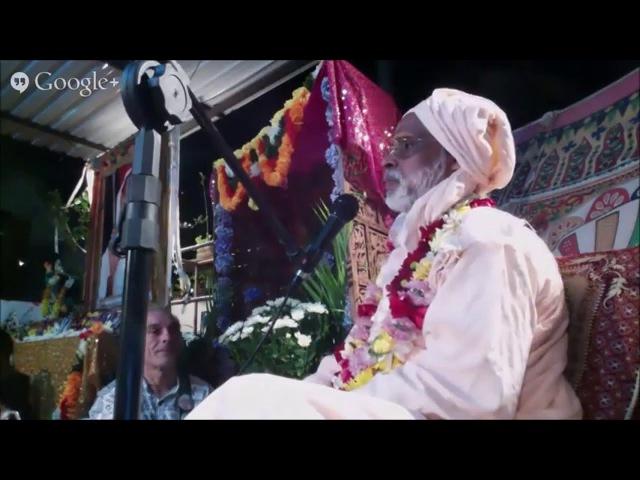 Шри Шримад БВ Вана Махарадж День ухода Шрилы Нараяны Госвами Махараджа 15 12 14