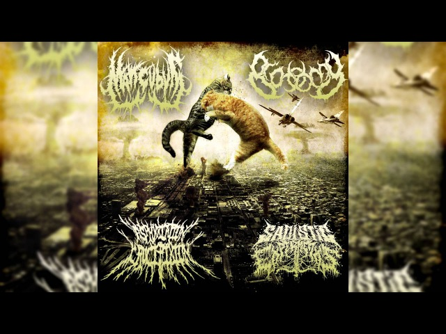 Sadistic Experiments, Mancubus, Asphyxiation Crucifixion, Biotomy - Split (Full Stream)