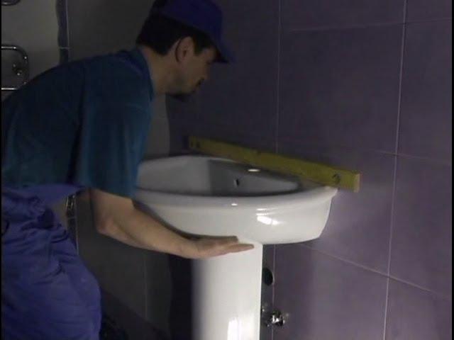 Раковина в ванной комнате установка своими руками Обучение смотреть онлайн без регистрации