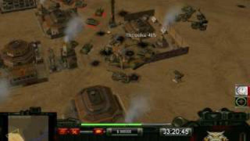 C.S.C. Contra 008 Generals Challenge 2 - Kwai (Tanks) vs Juhziz (Demo)