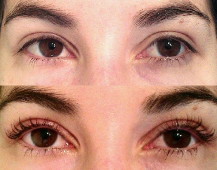 Отзывы биозавивка ресниц до и после фото