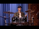 Justin Bieber and Questlove - Drum-Off