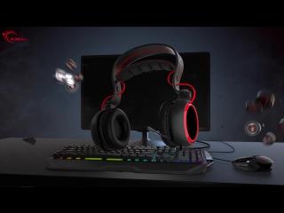 G.SKILL SR910 SV710 Surround Sound Gaming Headset