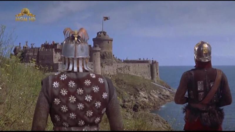 Викинги / The Vikings (1958). Осада замка