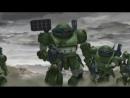Полнометражное аниме Бронированные воины ВотомыФайлы полковника Пэйлсена. Приключения, фантастика, меха, Япония, 2009