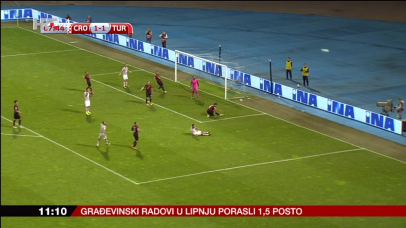 Hrvatska - Turska 1-1, sazetak, 05.09.2016. HD