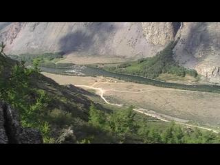 оз.Телецкое,в-д Учар,долина Чулышмана
