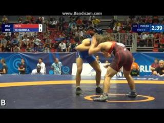 Андрей Яценко (Украина) - Daton Duain FIX (USA) 3-10 55кг за бронзу