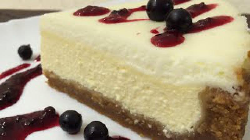 Чизкейк с Печеньем Топленое Молоко Очень просто и вкусно Cheesecake Dish