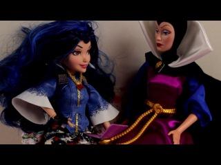 Куклы Принцессы Дисней козни злой королевы видео с игрушками для девочек игры для детей - Видео Dailymotion