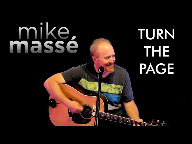 Turn the Page acoustic Bob Seger cover Mike Massé