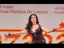Jannat dancing at Mazagat Festival in Bari, Italy - Nov 2014