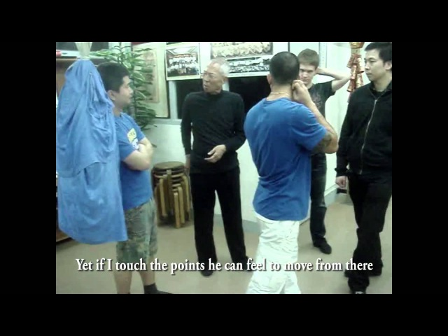 Wing Chun's Biu Jee Power - spinal vertebrae rotation