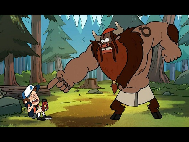 Gravity Falls/Гравити Фолз - «Диппер становится мужиком» - 6 серия 1 сезон