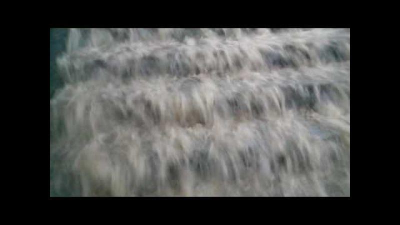 Злива у Вінниці. Водоспад біля Універмагу. 28.06.16