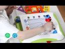 Детская доска для рисования с обучающими карточками (K's Kids)