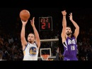 Stephen Curry Omri Casspi's 3-Point Duel | Kings vs Warriors | Dec 28, 2015 | NBA