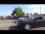 ВАЗ 2101(атмосфера) против Toyota Supra  ( 3.0 турбо) Драг ЛНР 2016