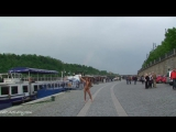 Martina K Nude in Public 1