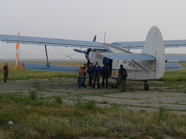 Сезон стрибків з парашутом у Скадовську відкрито