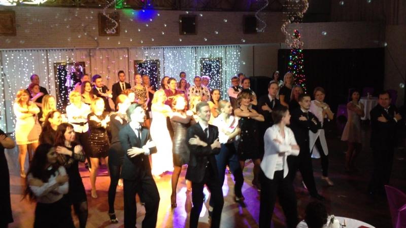 Мастер класс от преподавателя GallaDance Guru centre Алексея Прокоповича на новогодней вечеринке Michael Jackson New Year party