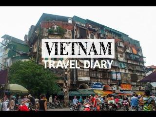 VIETNAM Travel Diary (Hanoi & Halong Bay!)