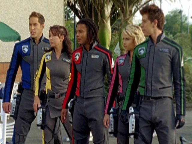 Power Rangers S.P.D. - All Unmorphed Fights