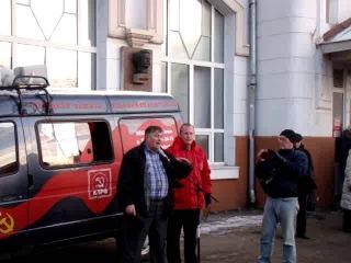 Митинг дальнобойщиков в Иваново 29.11.2015 г.