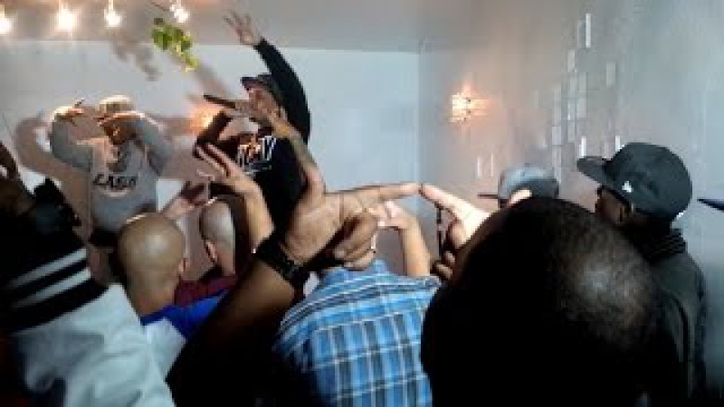 Гангстерская вечеринка в Лос-Анджелесе
