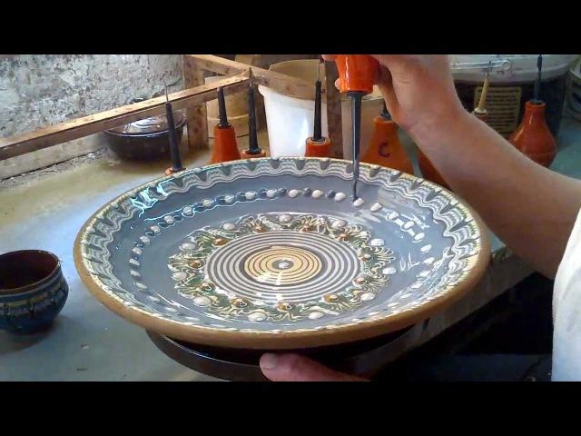Etno keramika ručna izrada i bojenje