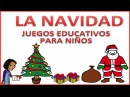 La Navidad Recopilatorio de juegos educativos para niños