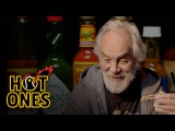 Tommy Chong Talks Weed, Bernie Sanders, and Smoking with Snoop While Eating Spicy Wings Hot Ones