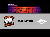 Virtus.Pro vs Secret #2 (bo3) | EPICENTER: Moscow, 11.05.16