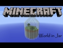 Выживание в Minecraft: World in Jar. Выживание в бутылке. Серия 3. Домик в деревне у спанч боба