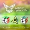CCC Summer Open 2016 - чемпионат по спидкубингу