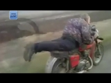 Самые невероятные мото приколы и случайные трюки на русских мотоциклах