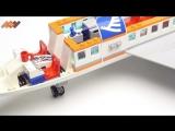 Лего Сити Аэропорт Пассажирский Терминал и Самолет - 60104 - Lego City Airport