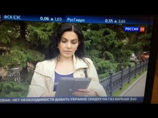 Интервью с Серафимой Золотарёвой. Новости на канале Россия 24