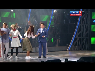Иосиф Кобзон и школа танца Аллы Духовой TODES - Отпуск в Сочи (Новая Волна 03.09.2016)