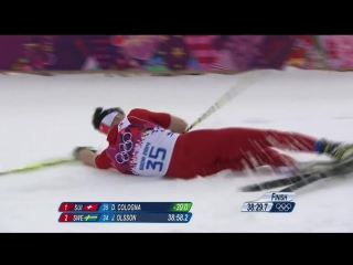Cross-Country Skiing - Mens 15km Classic - Dario Cologna Wins Gold - Sochi 2014 Winter Olympics
