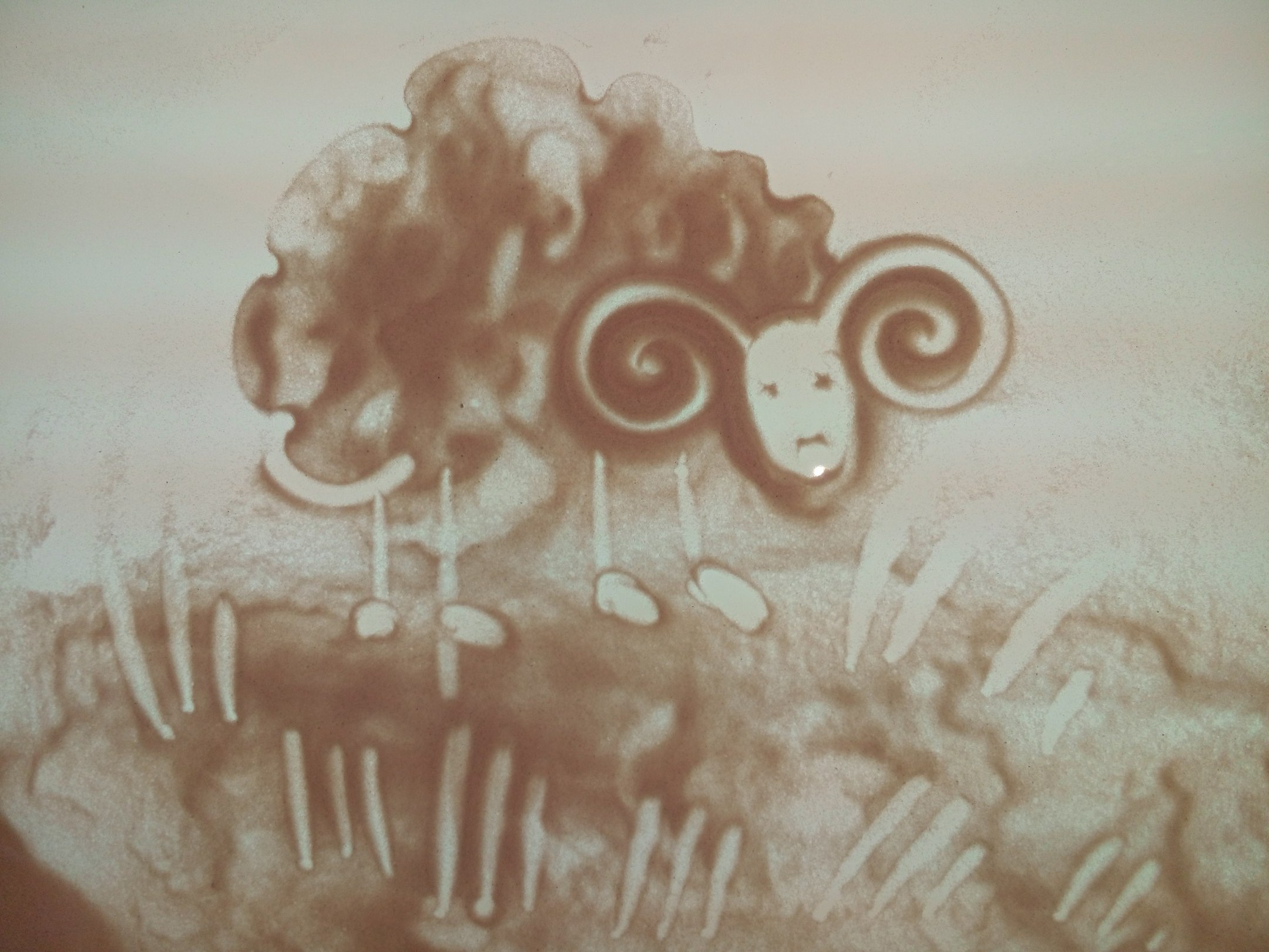 песочная анимация для детей, Запорожье, песочная терапия