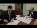 Подписание договора о сотрудничестве между ERSSHL и SWIG. (4.09.2014)