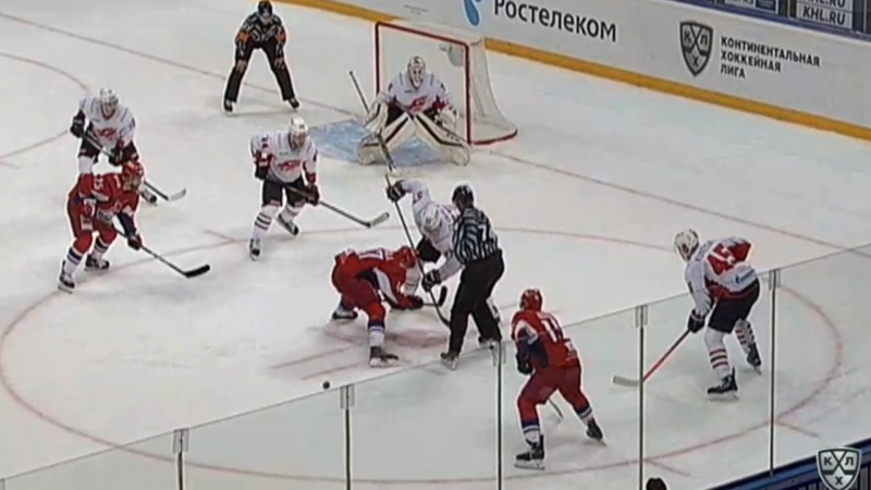 Локомотив - Авангард. Лучшие моменты матча